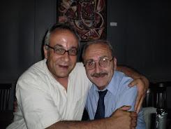 Con el Dr. Francisco Pestanha, Secretario de la Comisión Permanente de Homenaje a FORJA