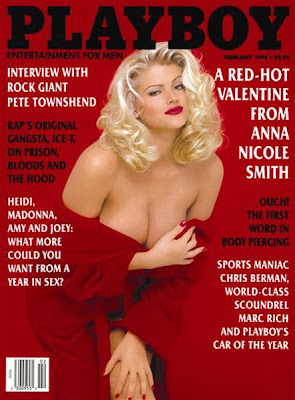 Anna Nicole Smith en Playboy