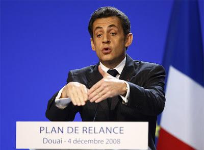 Presidente de Francia, Nicolás Sarkozy
