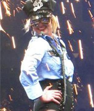 Britney Spears sensual en Nueva Orleans