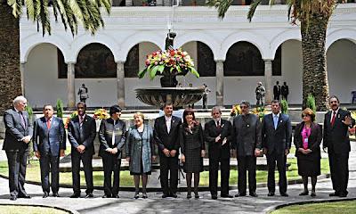 Reunión cumbre de Unasur en Quito