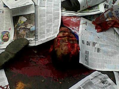 Foto Kerusuhan Ampera  dan Korban Keji Banget