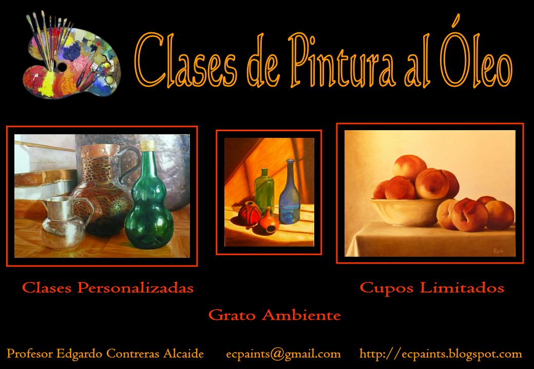 Edgardo contreras alcaide clases de pintura al leo - Donde estudiar pintura ...