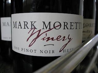 San Carlos, CA. Mark Moretti Winery