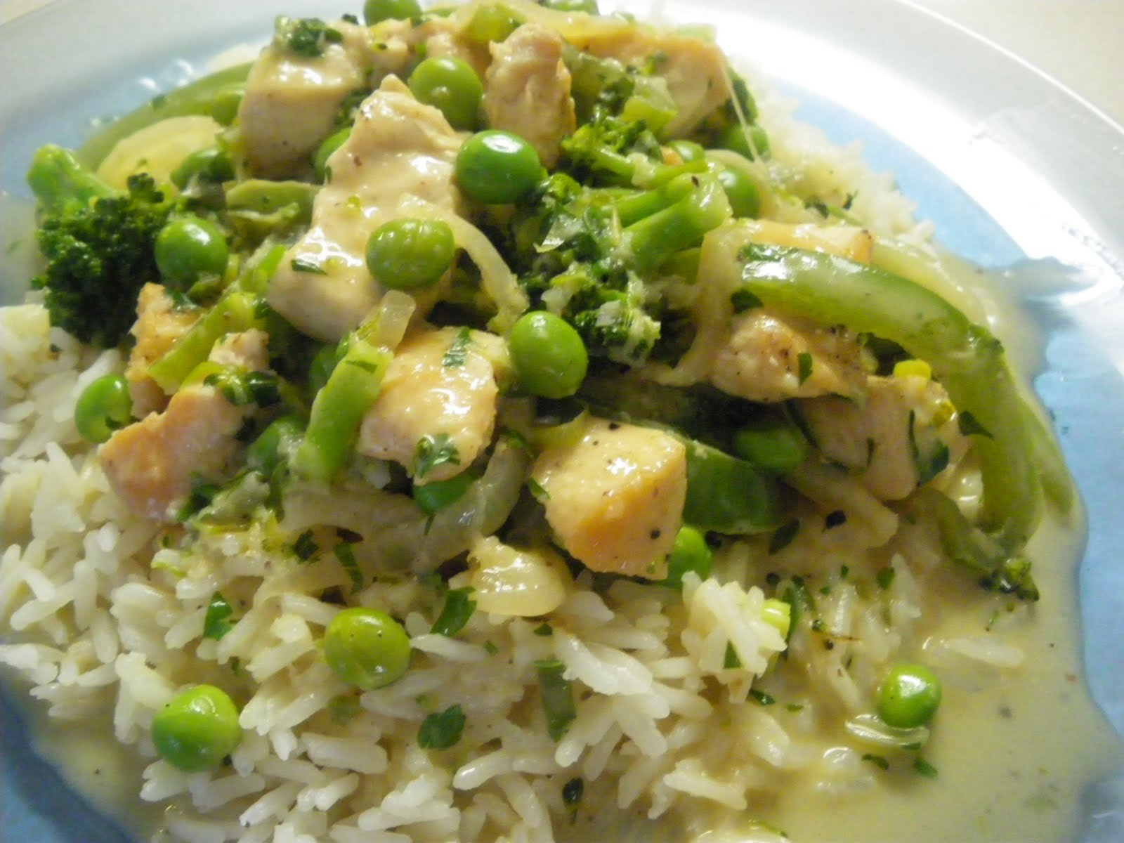 rice with coconut rice poulet s one pot coconut chicken over jasmine ...