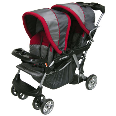 Baby Trend Sit-n-Stand Plus http://criandomultiples.blogspot.com