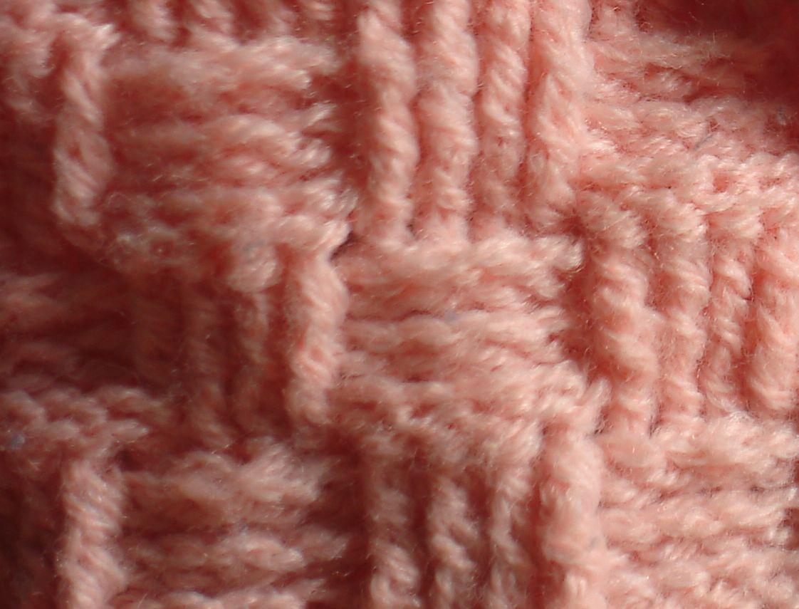 The Lazy Hobbyhopper: Crochet: Basket weave pattern