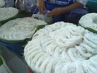 วิธีทำเส้นขนมจีน