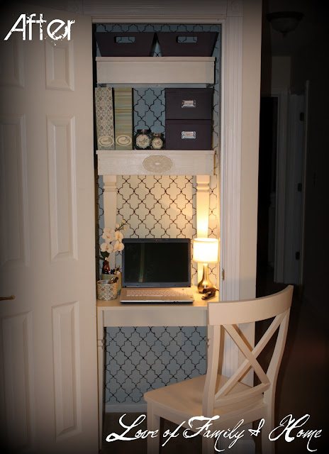 Inspiration File Beautiful Closet Turned Office Cloffice