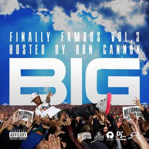 too fake big sean album cover. Big Sean Finally Famous Vol. 3