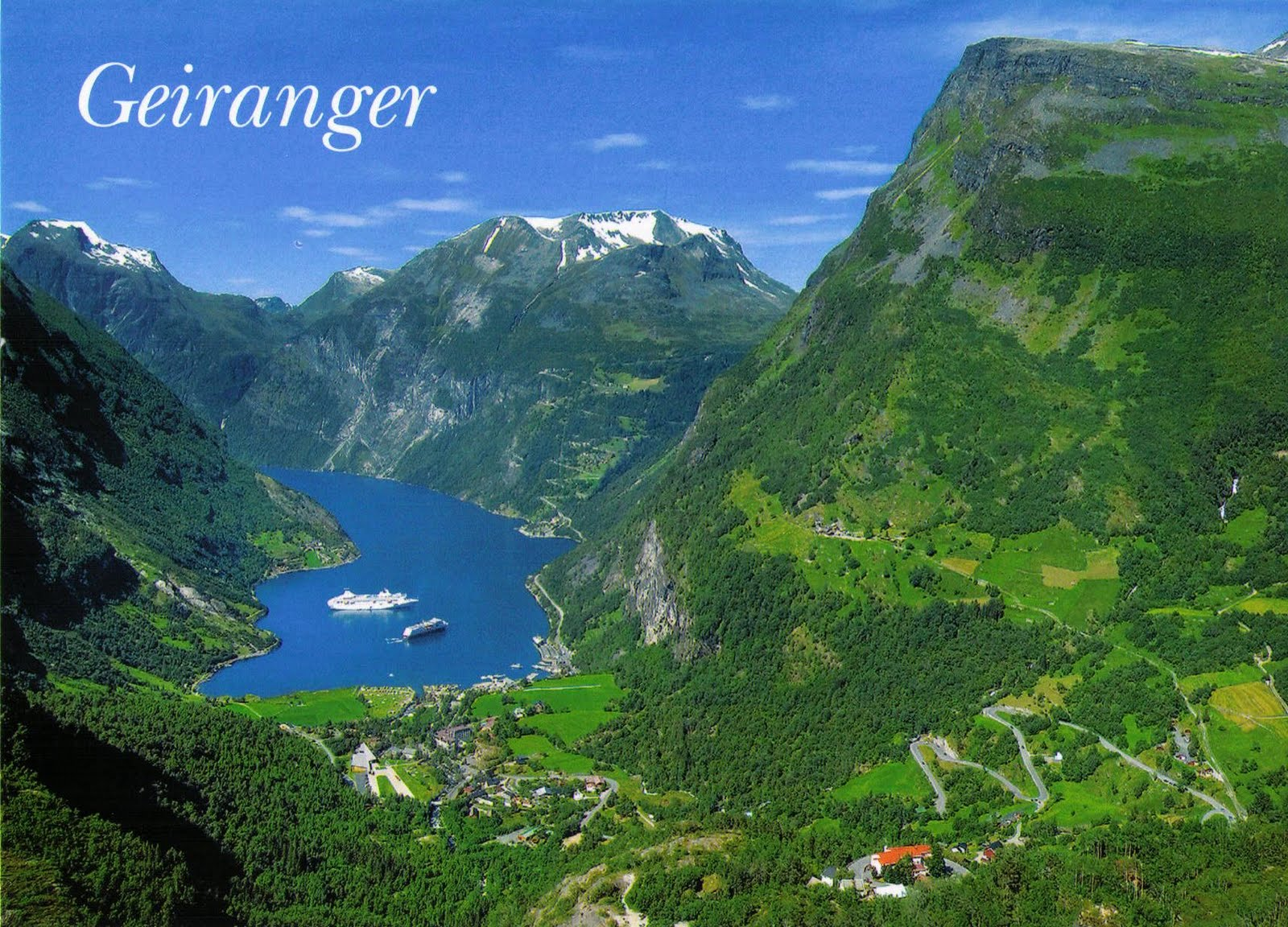 Geiranger Norway  city pictures gallery : Geiranger Norway Image