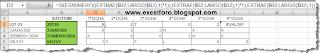 Función ESTEXTO y ESNUMERO en Excel.