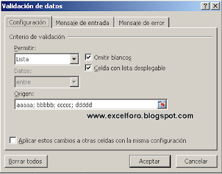 Ejemplo funciones MAX y MIN en Excel.
