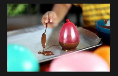 copa comestible de chocolate para helados