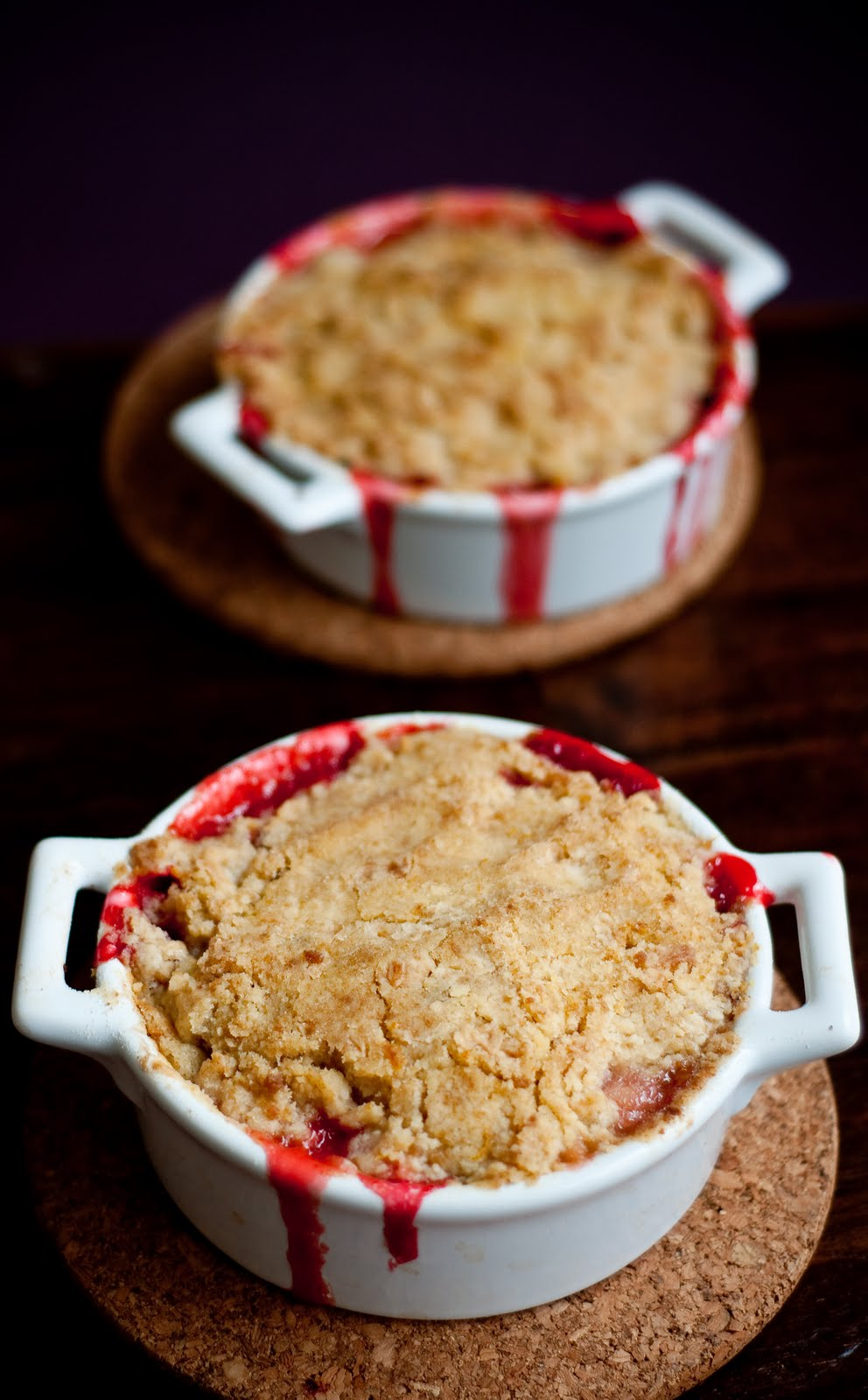 ... : Strawberry Rhubarb (and Orange!) Crumble, or My First Rhubarb