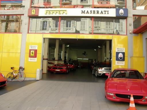 Riviéra, Riviéra, Cote d'Azur, képek, photos, fényképek, Azúrpart, Franciaország, tengerpart, Ferrari, Maserati, service, szerviz