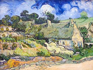Casa en Auvers - Van Gogh