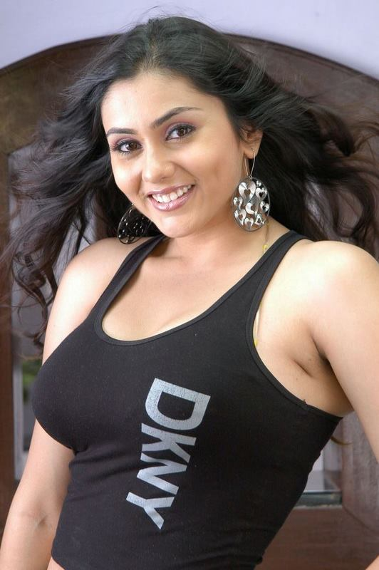 Namitha In Black Tight Outfit