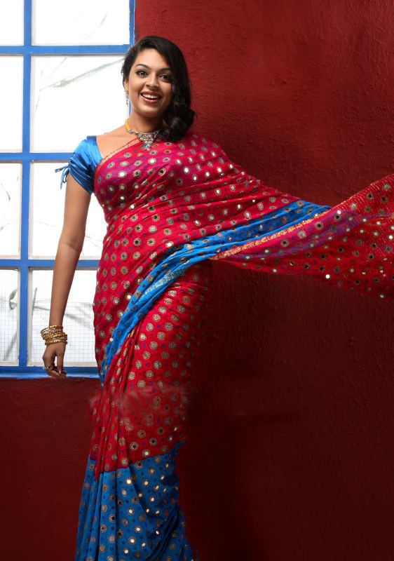 Malayalam Actress Radhika Saree Stills
