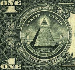 Τα εβραικά, μασονικά σύμβολα του δολαρίου