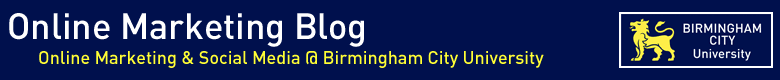 Birmingham City University - online marketing