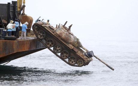Briefings sdr slbms tank reefs