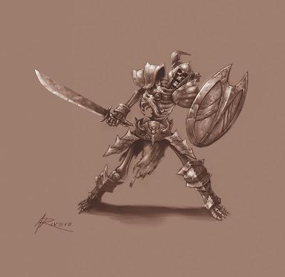 diablo iii wallpaper. Free Diablo 3 skeleton
