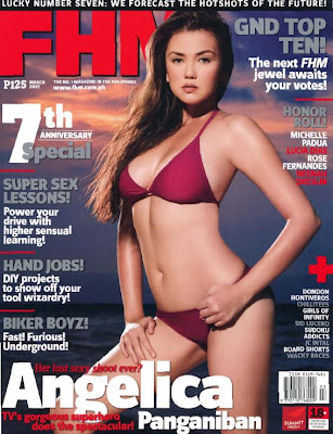 FHM Angelica Panganiban Versus Photoshop Image