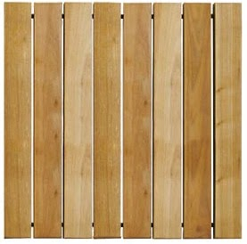 Jardinitis losetas de madera - Loseta para exteriores ...