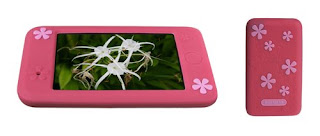 Pink Agent 18 Flower Vest for iPod Touch