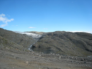 Retreated Glacier's Tongue