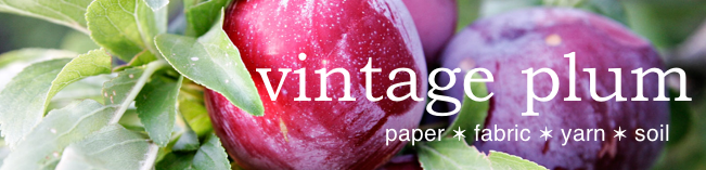 vintage plum