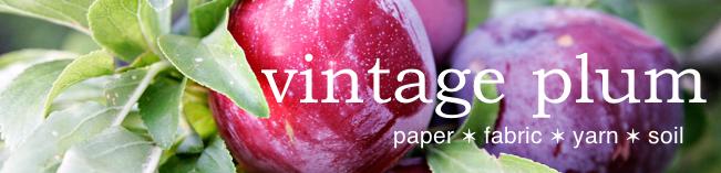 vintage plum