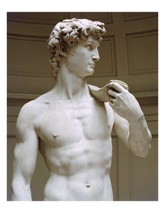 Michelangelo's David: Humanism at its finest