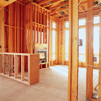 Home under construction and ready for fire sprinklers. Click to learn more...