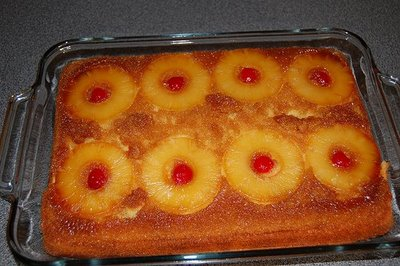 Upside Down Pineapple Cake Recipe