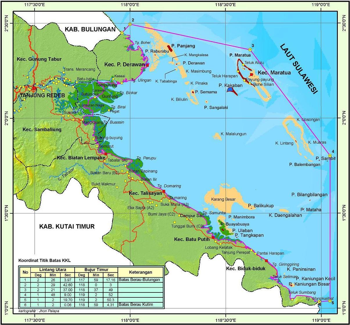 Berau Indonesia  City pictures : Kabupaten Berau adalah salah satu kabupaten di Provinsi Kalimantan ...
