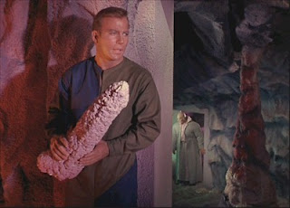 What? It's a stalactite - and the guy who played Lurch is coming and I have to defend myself.