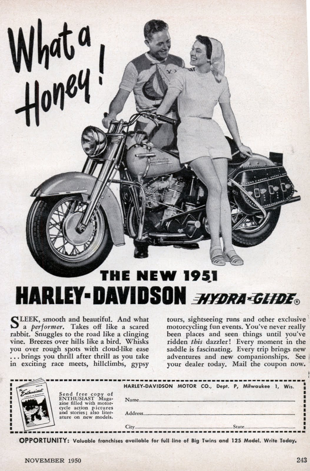 harley honey