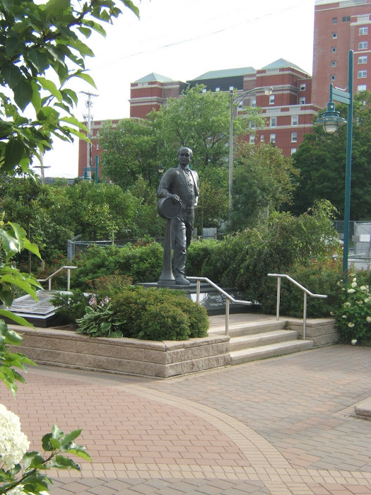 Samuel Cunard - Waterfront - Halifax
