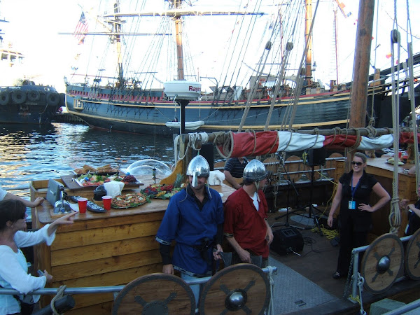 viking dudes at the Tall Ships 2009