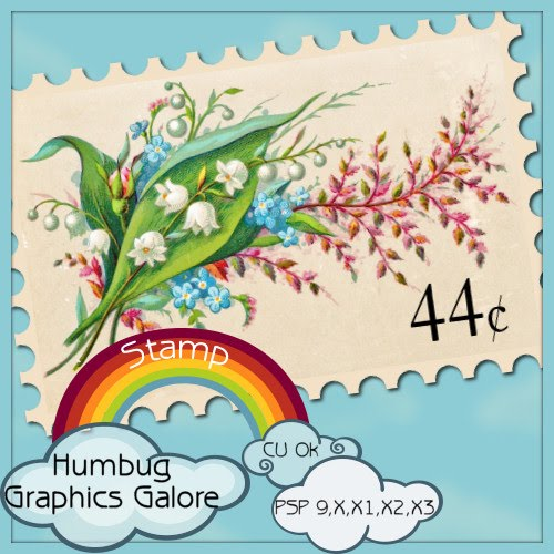 Postage Stamp Script by Humbug Graphics HGG_preview
