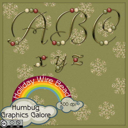 http://humbuggraphicsgalore.blogspot.com/2009/12/holiday-train-wire-bead-alpha.html