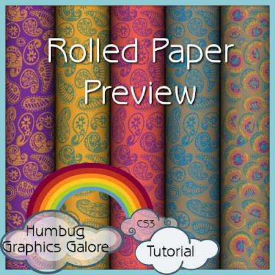 http://humbuggraphicsgalore.blogspot.com/2009/12/rolled-paper-preview-in-photoshop.html