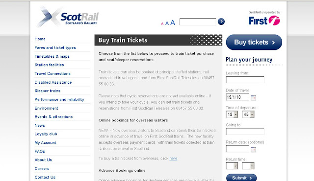 ScotRail Tickets Online - Buy Train Tickets at www.scotrail.co.uk/buytickets/