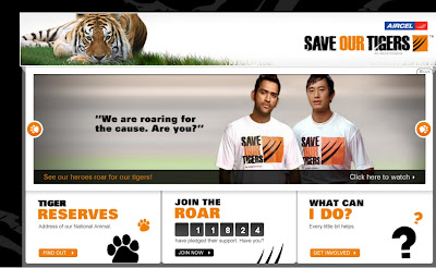 Www.Saveourtigers.com - Aircell Save Our Tigers