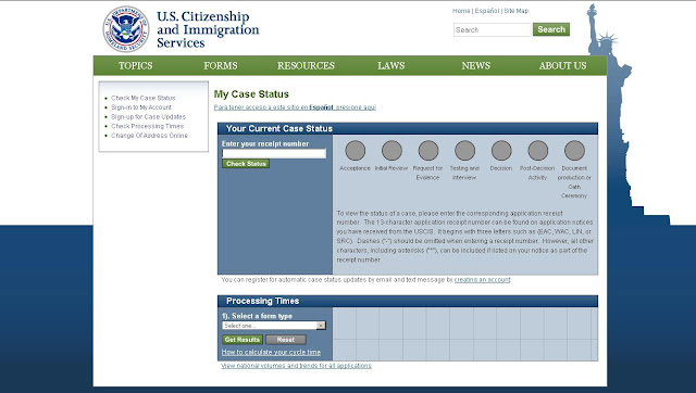Checktrack H1b Visa 2010 Status Online At Uscis Letmeget
