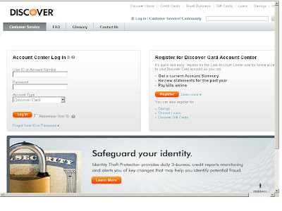 www.Discover.com - Pay Bill Online at Account Center