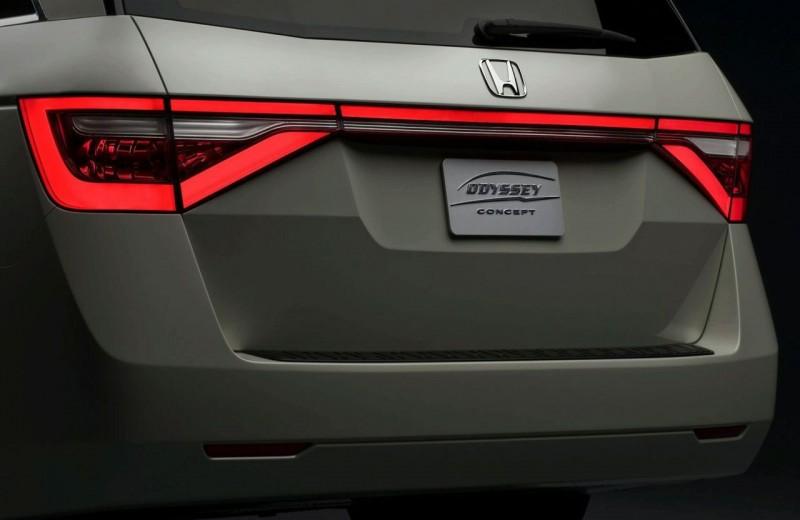 2011 Honda Odyssey Concept Interior Amp Exterior Photos