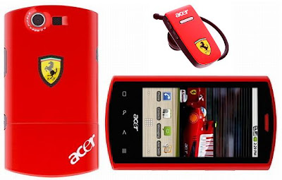 Acer Liquid e  Ferrari Special Edition SmartPhone : Price, Specifications & Review